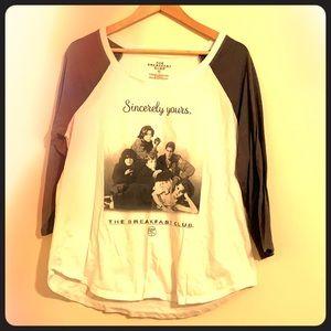 3/4 sleeve Torrid 0 tshirt
